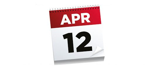 The date we have all been waiting for! Monday 12th April