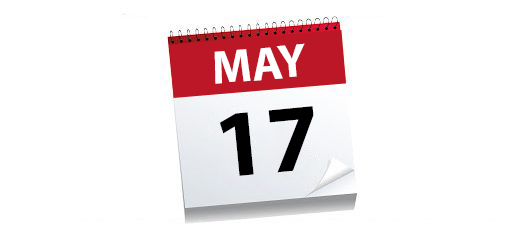 The next milestone we have all been waiting for! Monday May 17th